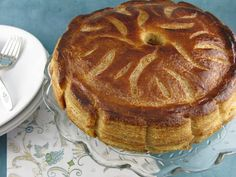 Galette Des Rois Aux Pommes (Apple Maple Cinnamon Galette), from Life's a Feast