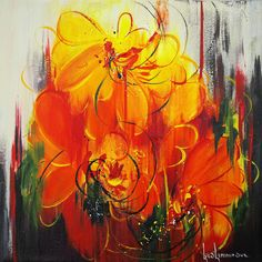 LUCE LAMOUREUX - Colorida Art Gallery - www.colorida.biz Acrylic Colors, Art Gallery, Paintings, Colorful, Nature, Artists, Flowers, Art Museum, Fine Art Gallery