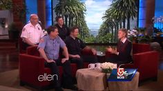 Firefighters forced to return gift from Ellen DeGeneres