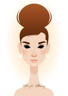 ... I was planning on just pinning Stanley Chow's Mad Men portraits, but I found about 500 other great things before I even got there. <3 Audrey!