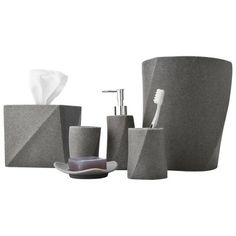 Geo Stone Bath Collection.Opens in a new window.