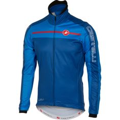 Castelli Velocissimo Cycling Jacket - 2016 - Surf Blue / Drive Blue / 2XLarge  #CyclingBargains #DealFinder #Bike #BikeBargains #Fitness Visit our web site to find the best Cycling Bargains from over 450,000 searchable products from all the top Stores, we are also on Facebook, Twitter & have an App on the Google Android, Apple & Amazon PlayStores.