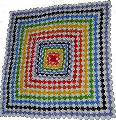 Wool Eater Blanket. Made by me.
