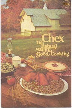 The Chex Natural Way to Good Cooking Vintage Cookbook Cereal 1970'S | eBay