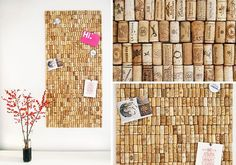 neovia house: Cork Board
