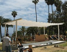 Slide on wire│Van Nuys Awning│California
