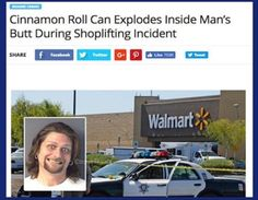Shoplifting. yeah, we'll call it a shoplifting event...yeah, sure.