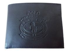 Polo Ralph Lauren Men's Core Slgs Leher Wallet Black