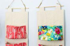 DIY Hanging Organizer - Free Sewing Pattern — SewCanShe | Free Sewing Patterns for Beginners