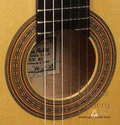 Sasha Radicic classical guitar rosette