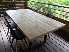 Creating a repurposed wood pallet table not only helps in fulfilling the furniture requirement in home, but also assists the restaurant owners as the table presented here is not costly; so as many tables for the restaurant can be made as a restaurant owner wants according to the area.