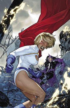 Power girl and Huntress