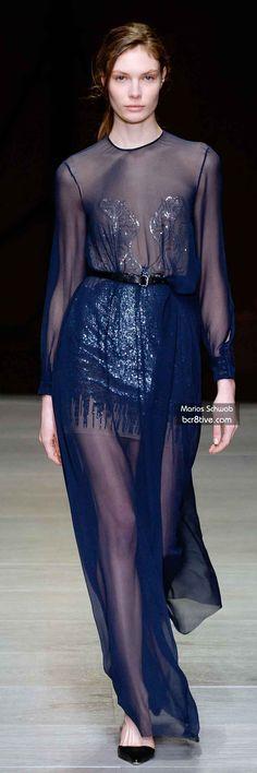 The Best Gowns of Fall 2014 Fashion Week International: Marios Schwab FW 2014 #LondonFashionWeek