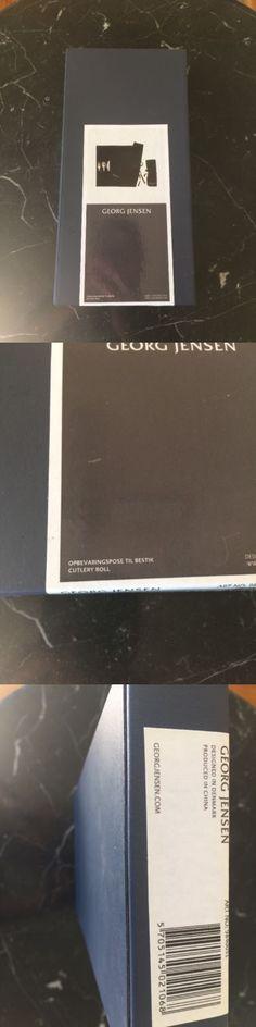 Flatware Storage 159899: Georg Jensen, Silver Storage Rolls. Cutlery Roll New! -> BUY IT NOW ONLY: $34 on eBay!