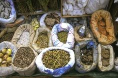 La paz -Traditional medicines at the Witches' Market (Mercado de Hechiceria or Mercado de las Brujas), on Calle Linares in La Paz, between Sagarnaga and Santa Cruz