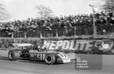 Peter Gethin, Chevron Racing Team B20, round 1 of the Formula 2 championship, Mallory Park, March 12, 1972. Gethin was disqualified in heat 2, due to his wing being too high. #f2 #formula2