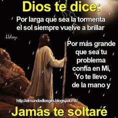 Prayer For Love, God Prayer, Power Of Prayer, Jesus Bible, God Jesus, Christian Quotes Images, Funny Baby Jokes, Spanish Prayers, Positive Phrases