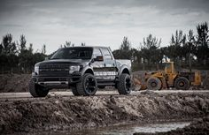 Right off the bat, the #Ford SVT Raptor is more intimidating and powerful compared to the F-150 model of which it is based. Driving all four of the off road wheels and tires is a large, naturally aspirated V-8 engine displacing 6.2 liters. The mighty V-8 sends a total of 411 horsepower to each of the new XD Wheels, allowing it to power through any kind of obstacle. It certainly doesn't have issues when it comes to getting up and going thanks to the tuned powerplant. #LOVE it? REPIN!
