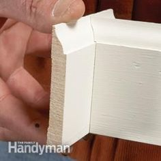 to Cope Baseboard Trim with a Miter Saw How to cope baseboards with a miter saw.Trim Trim may refer to: Popular Woodworking, Woodworking Jigs, Woodworking Projects, Diy Projects, Woodworking Furniture, Woodworking Basics, Woodworking Classes, Woodworking Techniques, Youtube Woodworking