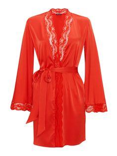 Loving Myla s Isabella Short Robe. Luxury Nightwear e7036f239