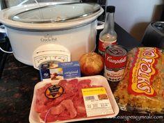 Crock Pot Beef Stroganoff | Eazy Peazy Mealz