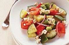 Salade grecque express pour deux Image 1