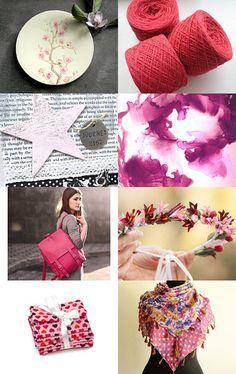50 Shades of Pink by Anaïs Villanueva on Etsy--Pinned with TreasuryPin.com