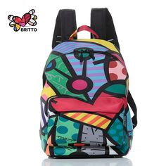 33.06$  Watch here - http://aizf2.worlditems.win/all/product.php?id=32705865850 - 2017 Famous Fashion Backpack Graffiti Travel Bag New Design graffiti Style Retro Backpack & Shoulders Bag Youth Doodle Backpack