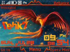 Free Phoenix [return of T7] theme by princeabid on Tehkseven