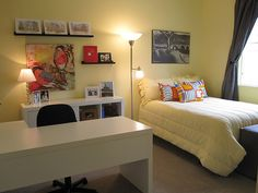 Guest Bedroom Office Combo how to make an office/guest bedroom work | guest room office, room