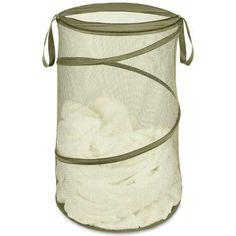 Olive Pop N Fold Laundry Hamper- More Colors Online $12.95