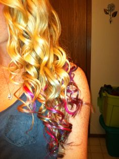 Tie Dyed Hair
