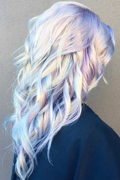 Wavy Hair with Purple Color picture1