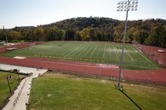 The all-weather turf and track is home to our #Crusaders! Come support our men's and women's soccer, lacrosse, track  field and field hockey!