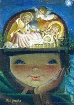 Tarjeta de Navidad - Ferrándiz