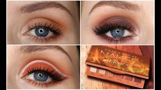 Unique API key is not valid for this user. Maquillage Urban Decay, Urban Decay Makeup, Everyday Makeup Tutorials, Beauty Tutorials, Beauty Tips, Beauty Products, Bronze Eye Makeup, Natural Eye Makeup, Naked Heat Tutorial