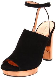 $360.00-$360.00 Marc by Marc Jacobs Women's Dries Platform Sandal,Black Suede,35 EU/5 M US -  http://www.amazon.com/dp/B006006DF0/?tag=icypnt-20