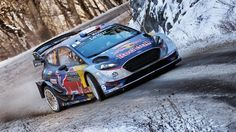 Sébastien Ogier, Julien Ingrassia, Ford Fiesta WRC, M-Sport. Photo by M-Sport on January 2017 at Rally Monte Carlo. Browse through our high-res professional motorsports photography Volkswagen Golf, Nascar, Rallye Wrc, Stock Car, Ford Motorsport, Monte Carlo Rally, Rally Raid, Automobile, Triumph