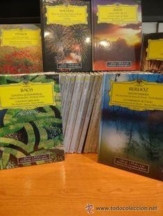 GRAN SELECCIÓN DEUTSCHE GRAMMOPHON. COLECCIÓN COMPLETA. 40 LIBROS / 80 CDS. TOTALMENTE PRECINTADA.