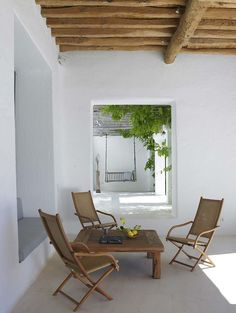 Design by Blakstad Design Consultants - beautiful outdoor area - simple & minimal. Less is more. You don't need everything.