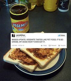 This person who just doesn't get it- 21 aussie food tweets
