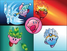 Vector Compilation: Kirby by ~DPghoastmaniac2 on deviantART