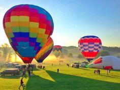 Preakness Hot Air Balloon Festival (via Will Cocks Photography)