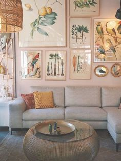 Lovely Living: Modern Bohemian Living Room Inspiration Ideas 22