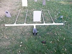 Fog distributer for grave yard..very cool idea!