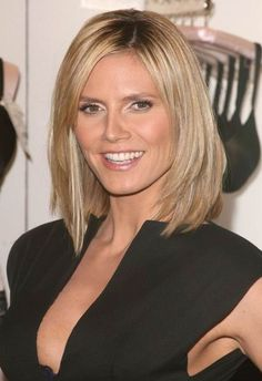 Like the long layered bob hair cut (the rest of it isn't going to happen...)