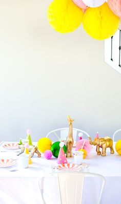 "Kids birthday ideas: A ""Glanimal"" 4th Birthday 