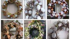 Ostern im Glas- wunderschöne Dekoideen für jede Wohnung :) - nettetipps.de Party Desserts, Dessert Party, Christmas Wreaths, Floral Wreath, Holiday Decor, Home Decor, Mini, Egg Shell, Old Books