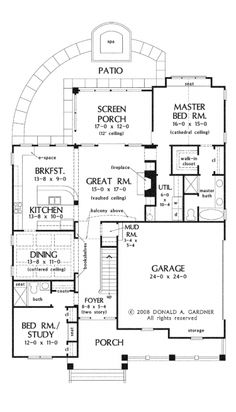 Floor Plans AFLFPW75905 - 2 Story Bungalow Home with 4 Bedrooms, 3 Bathrooms and 2,328 total Square Feet