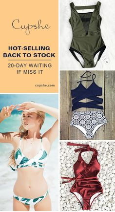 Treat Yourself to Something Special. Check the restock items here with low price & high-quality. Faster shipping. These flattery swimwears are chic must-have items of the year! Your perfect option for a cool beach party! Shop now.